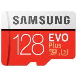 Samsung microSDXC 128Gb Class10 EVO+ с адаптером MB-MC128HA/RU