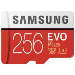 Samsung microSDXC 256Gb Class10 EVO+ с адаптером MB-MC256HA/RU