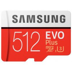 Samsung microSDXC 512Gb Class10 EVO+ с адаптером MB-MC512HA/RU