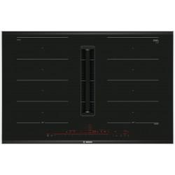 Индукционная варочная панель с интегрированной вытяжкой Bosch PXX875D67E