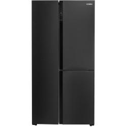 Холодильник Side by Side Hyundai CS5073FV черная сталь