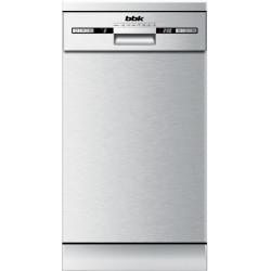 Посудомоечная машина BBK 45-DW119D серебро