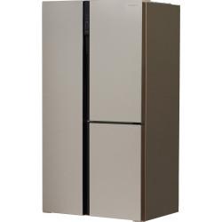 Холодильник Side by Side Hyundai CS6073FV шампань