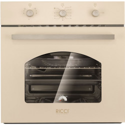 Газовый духовой шкаф Ricci RGO-611 BG