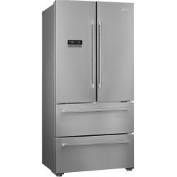 Многокамерный холодильник Smeg FQ55FXDF эффект нержавеющей стали